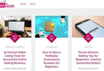 BigCityBazaar - An E-commerce Blog