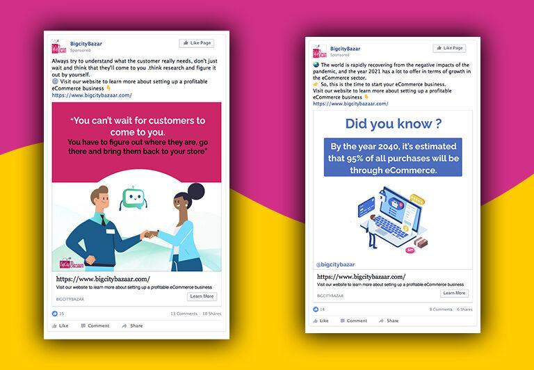 Branded Social Media Posts Sample-1 BigCityBazaar